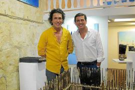 Gueras y Monserrate en la galería Marta Torres muestran su versión del Mediterráneo