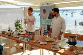 Baleària se alía con los mejores chefs para promocionar la cocina de Formentera