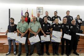 Agentes de la Policía Local de Sant Antoni denuncian carencias de material y de plantilla