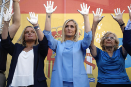 Abucheos a Carmena en el homenaje del PP a Miguel Ángel Blanco