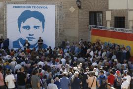 Las imágenes del recuerdo a Miguel Ángel Blanco