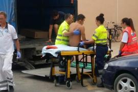 Herido un trabajador tras cortarse en una pierna en un accidente laboral en Formentera