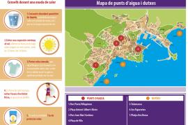 El Ayuntamiento de Vila impulsa una campaña con consejos para evitar los efectos del calor