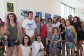 'Los artistas de Apfem' exponen sus obras hasta el 13 de septiembre