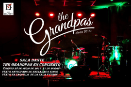 The Grandpas lleva el pop-rock de los 60, 70 y 80 a la Sala Dante