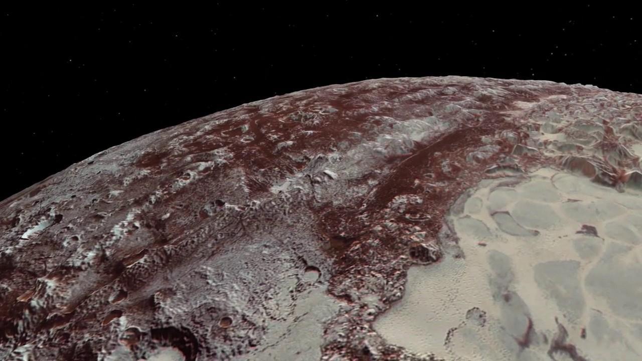 Sobrevuela Plutón y Caronte gracias a la New Horizons de la NASA