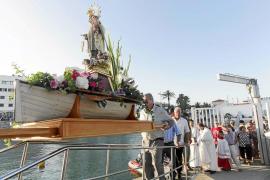 Los marineros de Santa Eulària celebran con fervor el día de su patrona