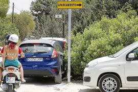 Sant Josep sanciona a 210 vehículos por aparcar mal en Platges de Comte