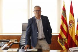Torres retoma sus competencias en el Consell mientras se recupera en su casa