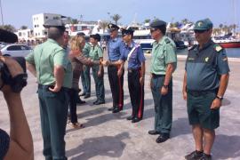 Formentera se refuerza este verano con unidades ROCA, de Tráfico, patrullas mixtas y Servicio Marítimo