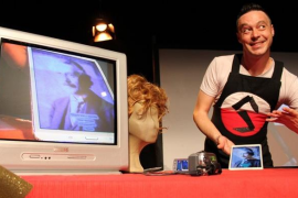 La Fundació Coll Bardolet acoge la obra 'Narco' interpretada por Serafín Quevedo