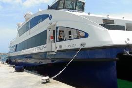 La naviera Trasmapi presenta un nuevo catamarán para unir las Pitiusas