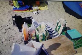 Sant Josep confisca 300 kilos de material procedente de la venta ilegal e interpone 14 denuncias