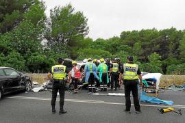 Horas negras en la carretera con ocho heridos en cuatro accidentes de tráfico