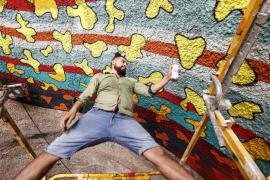 Spaik vuelve a decorar el interior del túnel de El Soto de Vila