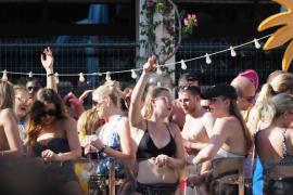 'Pool party' de Craig David en el Ibiza Rocks