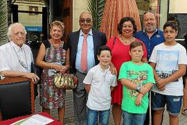 Miquel Segura recibe el Escut d'Or de sa Pobla