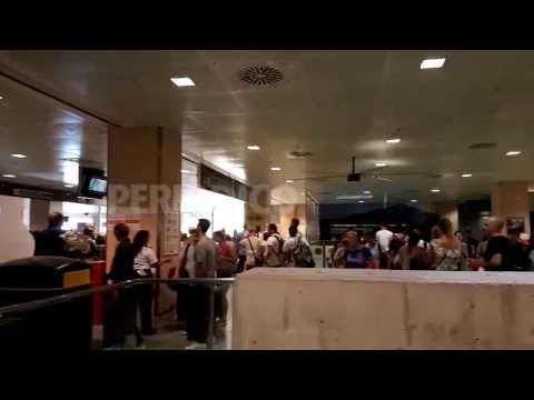 Aparente normalidad en el aeropuerto de Ibiza tras el inicio de la huelga indefinida de vigilantes