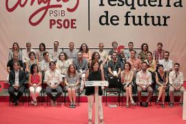 Armengol mete a Ruiz en la ejecutiva del PSOE como secretario de Política Municipal