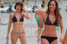 Las actrices Úrsula Corberó y Silvia Alonso pasan el fin de semana en Mallorca