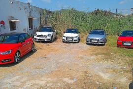 EPIC denuncia un aparcamiento ilegal en Ses Feixes de Vila