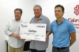 Aqualia reintegra el coste del agua a Cáritas para que no les suponga un gasto