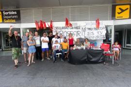 La seguridad del aeropuerto pide la mediación para abandonar la huelga