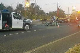Herido un ciclista tras ser golpeado por un coche que se dio a la fuga en el Camí de sa Vorera
