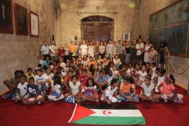 Armengol subraya el compromiso de su Govern con la causa saharaui
