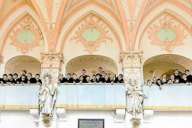 Los coros infantiles de Munich y Can Blau actúan este sábado en Can Jeroni