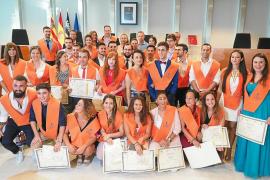 36 alumnos finalizan con éxito el grado en la Escuela de Turismo