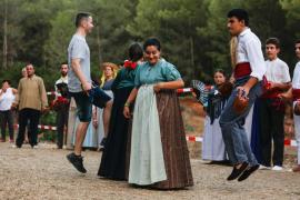 'Festa pagesa' en es Broll de Buscastell