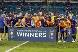 El Barça vence al Real Madrid en Miami