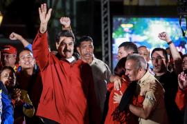 Maduro celebra la victoria en las elecciones para la Constituyente