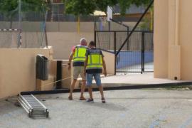 Fallece un hombre en las obras de remodelación del CEIP Can Misses