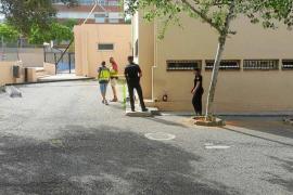 Muere un trabajador tras caer desde una altura de 7 metros en las obras del colegio Can Misses
