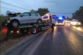 Detenido el conductor huido que provocó la muerte de un motorista en la carretera de Santa Eulària