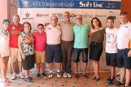 Entrega de premios del torneo de golf Soft Line en Golf Park Puntiró