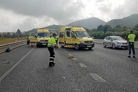 Ingresada en la UCI una joven atropellada por un coche que se dio a la fuga en Sant Antoni