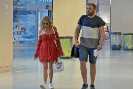 Ana Obregón se despide de Ibiza tras una pequeña escapada de tres días