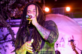 Concierto de Ky-Mani Marley, hijo de Bob Marley, en Ibiza (Fotos: Daniel Espinosa).