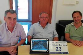 Localización por GPS en las casas de Sant Joan