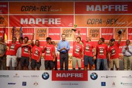Entrega de premios de la 36 edición de la Copa del Rey MAPFRE de Velas