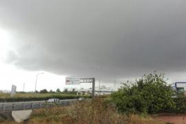 Alerta naranja por precipitaciones en Ibiza y Formentera