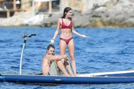 Sara Sampaio, un ángel de Victoria's Secret de vacaciones en aguas pitiusas