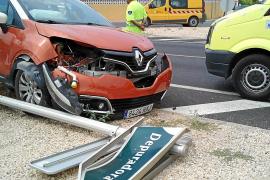 Las carreteras ibicencas suman cuatro accidentes más en su verano más negro
