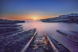Amanece en Formentera