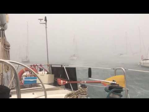 Nuevas imágenes confirman la virulencia del temporal que se vivió en Cala Saona