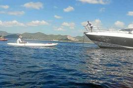 El temporal inhabilita las tres barcas de vigilancia de fondeos destinadas a Formentera