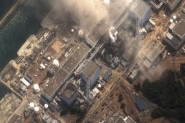El viento está dispersando las partículas radiactivas en Japón